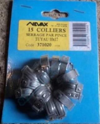 Collier à pince 10x17mm NEVAX SOUDURES