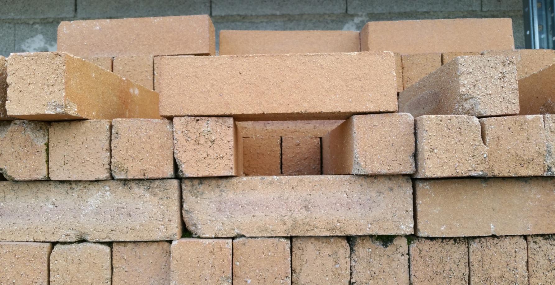 Brique r fractaire rustique 32 22x5 5cm ep 5 5cm fayol for Plaquette de parement refractaire