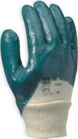Paire gants nitrile fort poignet tricot GERIN