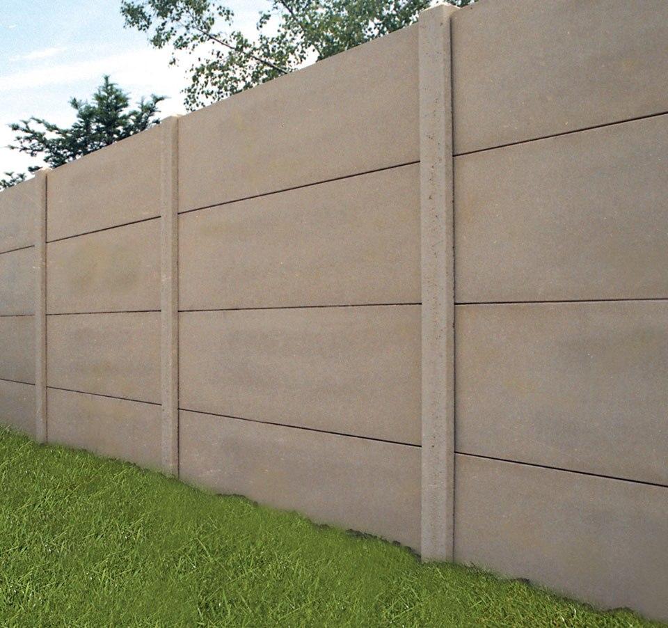 Poteau n 5 12x12 angle 2 rainures rousseau clotures - Poteau beton 12x12 ...