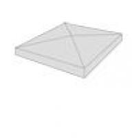 Chapeau pilier 50x50p perigord pointe diamant SAS PREFABRICADOS HORMIGON