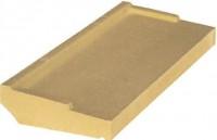 Appui fenêtre beton nez arrondi pierre 35cm 0.90ml WESER