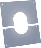 Plaque de propreté pente 0-10° en inox POUJOULAT