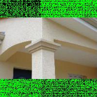 Chapiteau pour pilier 37x37x10x14cm pierre WESER