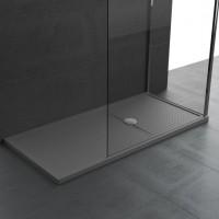 Receveur de douche OLYMPIC PLUS 160x80cm bord blanc 4,5 blanc NOVELLINI