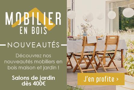 Nouveautés Mobiliers en teck - Salons de jardin dès 400€