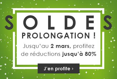 Soldes Prolongation - Jusqu'au 2 mars - Sélection de 12000 produits en promotion